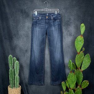 7 For All Mankind Jeans - Seven 7 For All Mankind Dojo Flare Leg Jeans 28